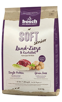 Bosch High Premium Soft Senior Farm Goat & Potato Grain Free Dry Dog Food