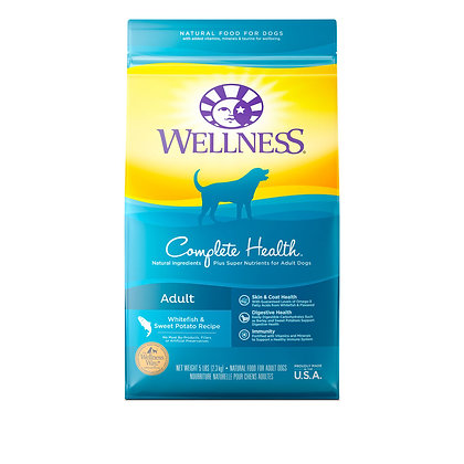 Wellness Complete Health Whitefish & Sweet Potato Meal Dry Dog Food