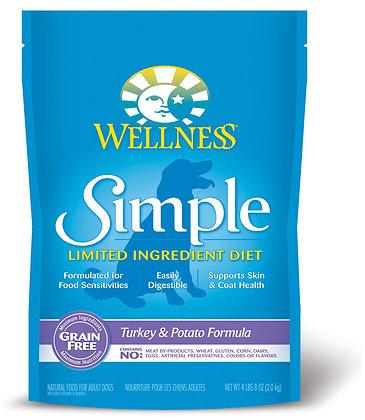 Wellness Simple Solutions Limited Ingredient Diet Turkey & Potato