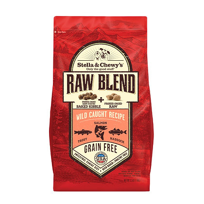 Stella & Chewy's Raw Blend - Wild Caught (Trout, Salmon, Haddock)