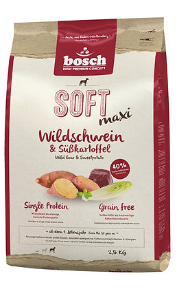 Bosch High Premium Soft+ Adult Maxi Wild Boar & Sweet Potato Dry Dog Food