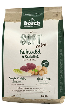 Bosch High Premium Soft Adult Mini Roe Deer & Potato Dry Dog Food