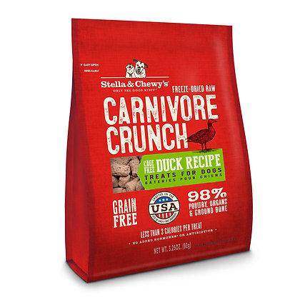 Stella & Chewy's Carnivore Crunch - Duck 3.25oz