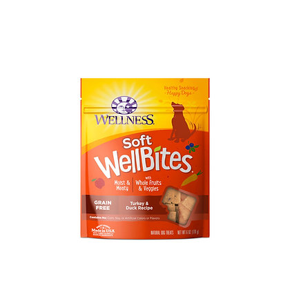 Wellness WellBites Turkey & Duck Treats 6oz