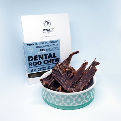 Loyalty Pet Dental Roo Chew, wild caught, hormone free (120g)