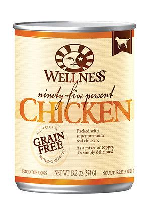 Wellness 95% Grain-Free Chicken Wet Dog Food 13.2oz