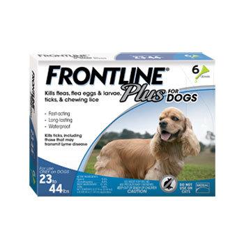 Frontline Plus for Medium Dogs 10-20kg