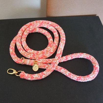 Braided Leash Pink