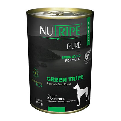 Nutripe Pure Green Tripe Dog 390g (12 cans)