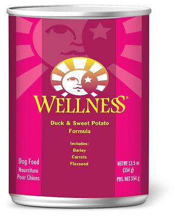 Wellness Complete Health Duck & Sweet Potato Wet Dog Food 12.5oz