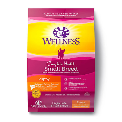 Wellness Complete Health Small Breed Just For Puppy Dry Dog Food 4lb