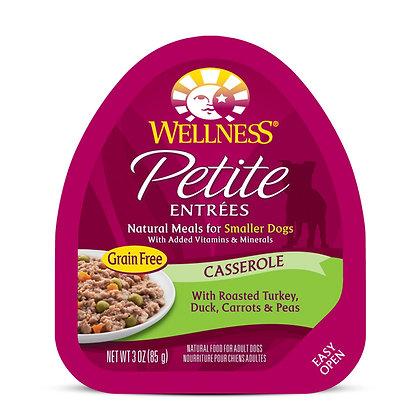 Wellness Petite Entrees Casserole Roasted Turkey, Duck 3oz