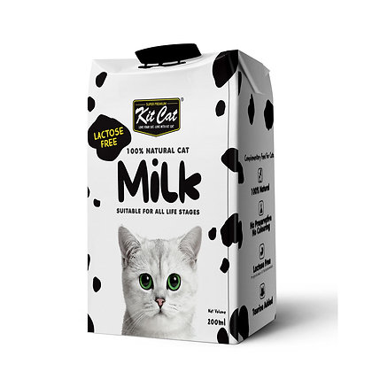 Kit Cat 100% Natural Cat Milk 200ml (27 packets)