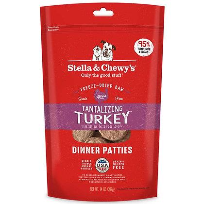 Stella & Chewy's Dinner Patties - Tantalizing Turkey 14oz