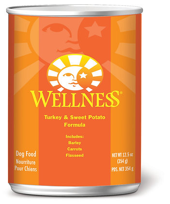 Wellness Complete Health Turkey & Sweet Potato Wet Dog Food 12.5oz
