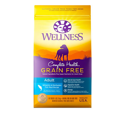 Wellness Complete Health Grain-Free Whitefish & Menhaden Fish Meal Dry Dog Food