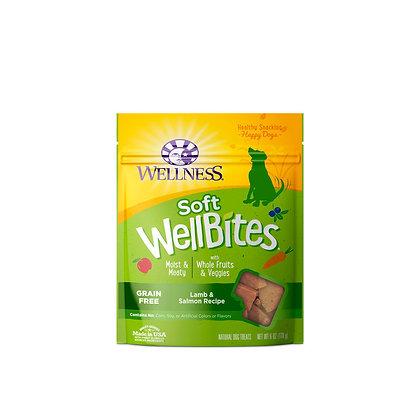 Wellness WellBites Lamb & Salmon Treats 6oz
