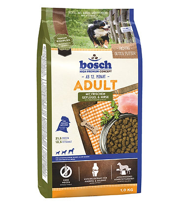 Bosch High Premium Adult Poultry & Millet Dry Dog Food