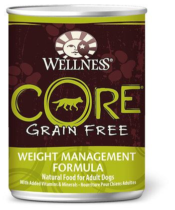 Wellness CORE Grain-Free Weight Management Wet Dog Food 12.5oz