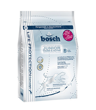 Bosch Life Protection Junior Young & Active Dry Dog Food 3.75kg