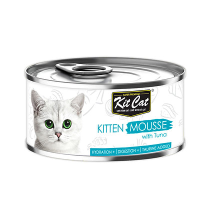 Kit Cat Kitten Tuna Mousse 80g (24 cans)