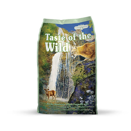 Taste of the Wild Rocky Mountain Roasted Venison Dry Cat Food