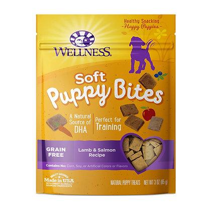 Wellness WellBites Puppy Bites - Soft Lamb & Salmon Treats 3oz