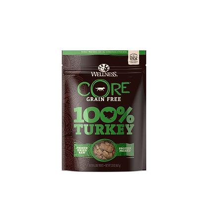 Wellness CORE 100% Freeze-Dried Turkey Treats 2oz