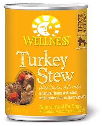 Wellness Stews Turkey Wet Dog Food 12.5oz