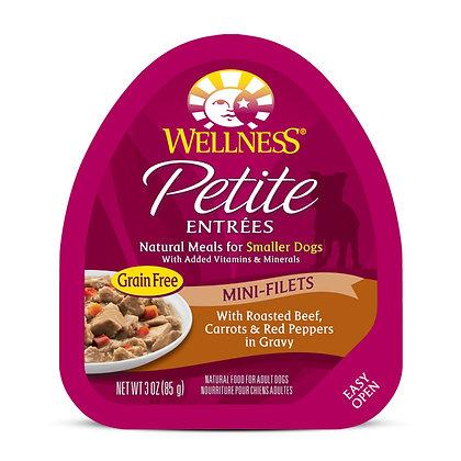 Wellness Petite Entrees Mini-Filets Roasted Beef w Gravy 3oz