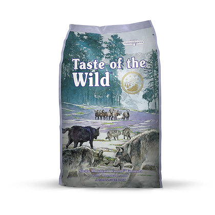 Donate to BFF: Taste of the Wild Sierra Mountain Roasted Lamb Dog Food (12.2kg)
