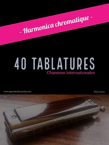 40 tablatures - Chansons internationales