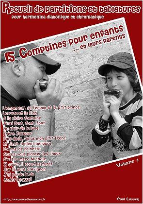 15 Comptines pour enfants et leurs parents