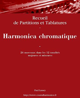 24 Thèmes pour Harmonica chromatique