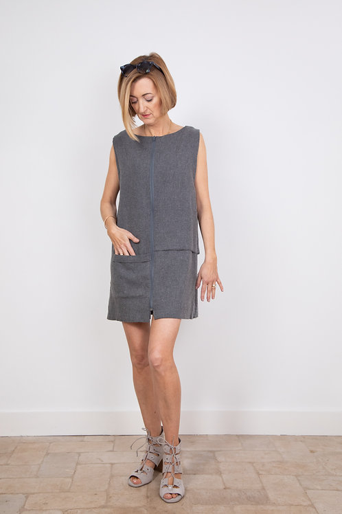 Biba Dress in Organic Wool