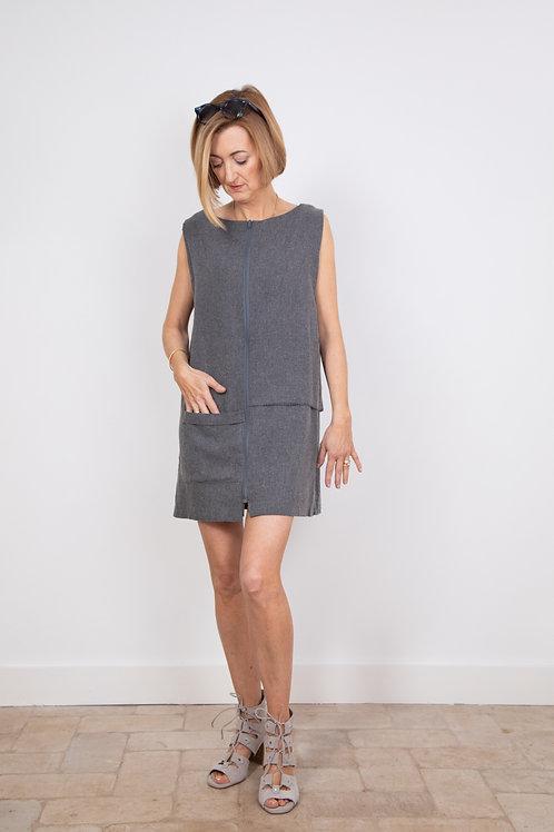 Biba Dress in Organic Wool