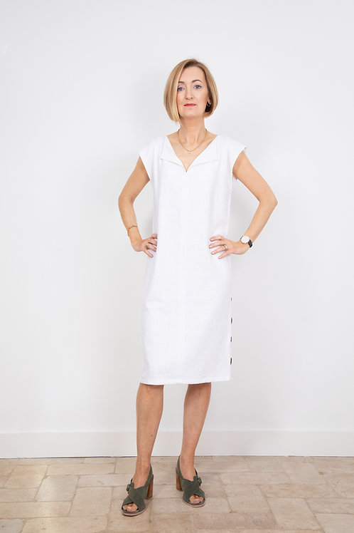 Tunic Dress in Linen