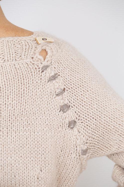 Handknitted Fisherman's Sweater