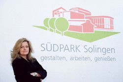 Südparkmanagerin Petra Krötzsch