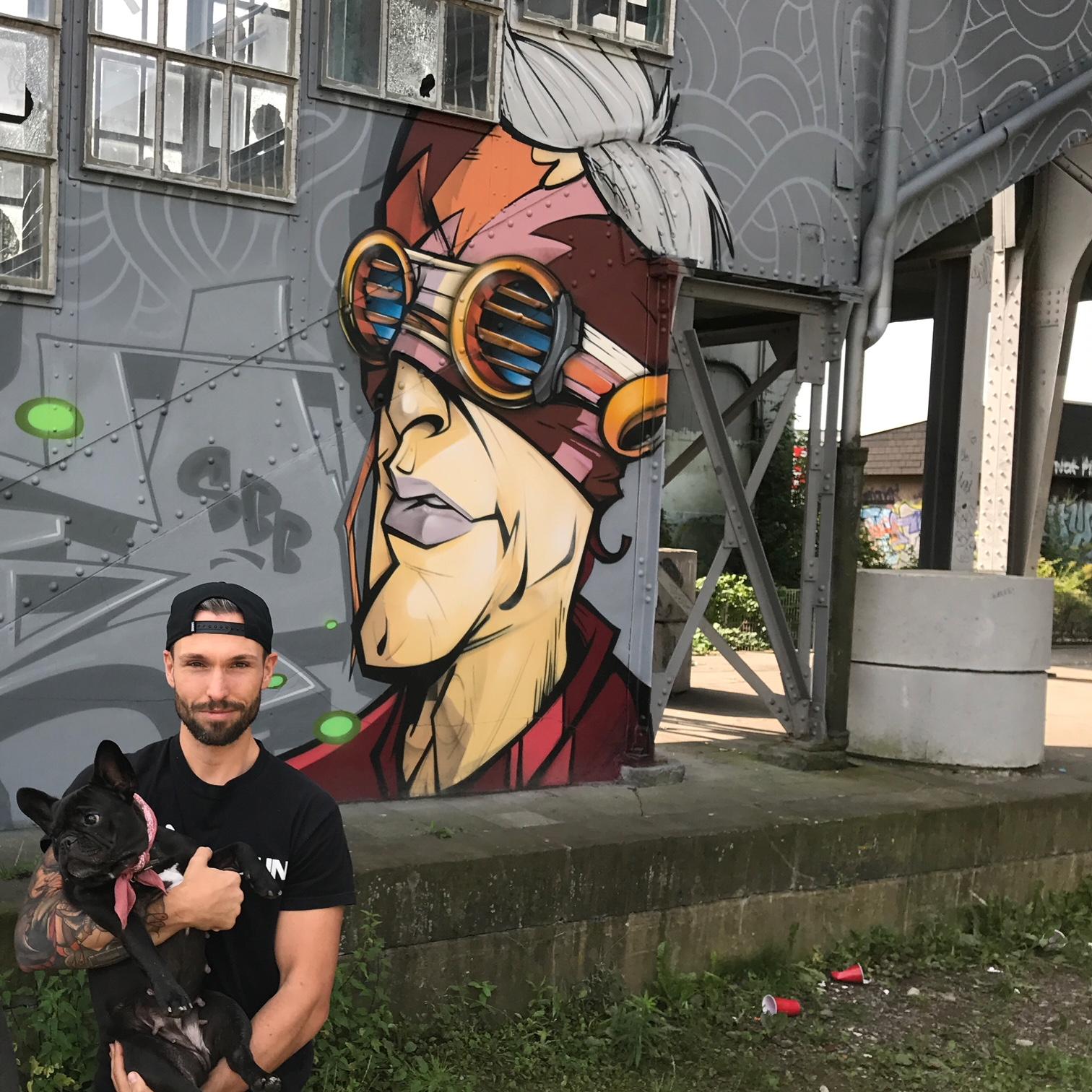 Südpark Graffiti von Kayo Karacho