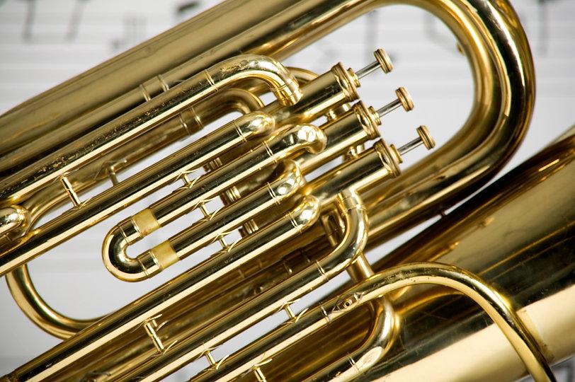 Tuba Close-up