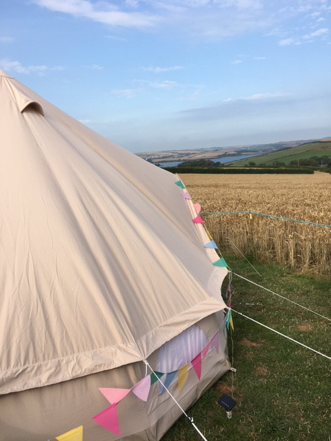 Bell tent canvas luxury tents the best tents camping glamping UK holidays how to camp where to camp