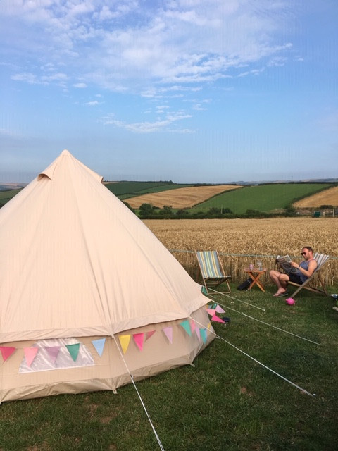 Bell Tent Camping Glamping in Devon
