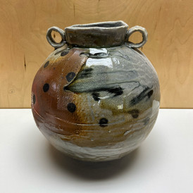 Faceted Moon Jar