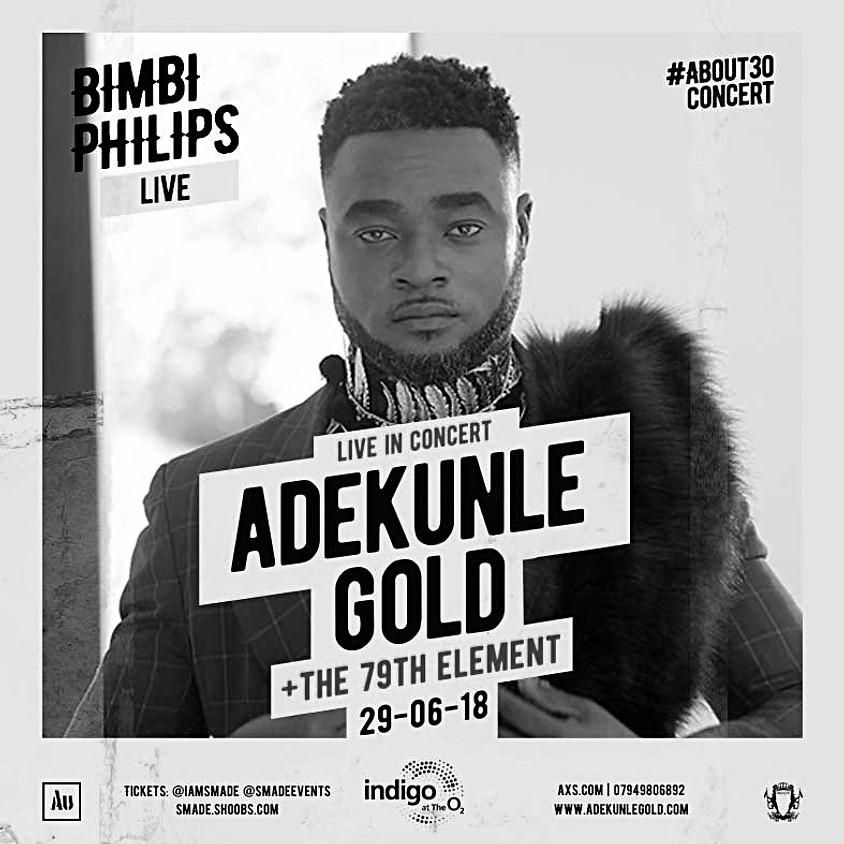Bimbi Live @ #About30concert with Adekunle Gold