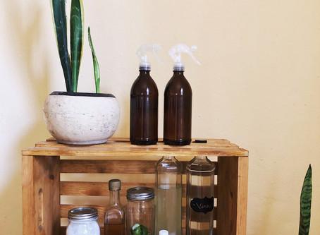 Haz tu propios productos de limpieza naturales cero basura