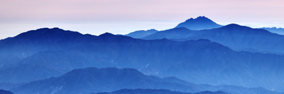Blue Mountain 2107 50x150cm, Archival Pi
