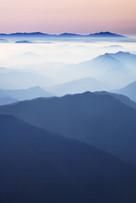 Blue Mountain 2137 160X107cm, Archival P