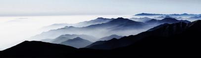 Mt. Deokyu 1301,50x172cm, Archival Pigme