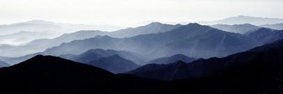 Mt. Deokyu 1309, 50x150cm, Archival Pigm